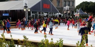 Planes para patinar en Madrid esta Navidad 2017