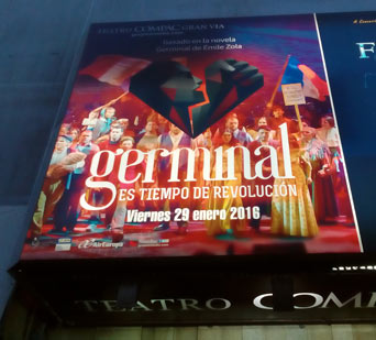 Germinal Teatro Madrid