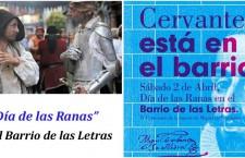 Día de las Ranas en el Barrio de las Letras, edición Cervantes 2016