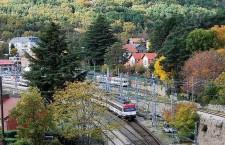 Tren de la Naturaleza en Madrid. Verano 2017
