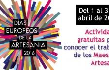 Los Días Europeos de la Artesanía en Madrid 2016