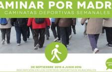 Caminar por Madrid 2016, caminatas por los parques y jardines de la ciudad