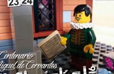 Homenaje a Cervantes con una gran exposición de LEGO