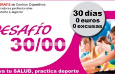 """""""DESAFIO 30/00"""", 1 mes de Gimnasio Gratis para mujeres madrileñas"""