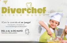 DIVERCHEF, talleres de cocina gratuitos para niños