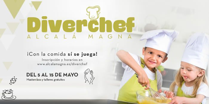Diverchef talleres de cocina gratuitos para ni os for Taller cocina ninos