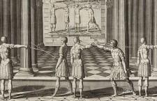 """Girard Thibault: """"Academie de l'espée"""", S. XVII"""