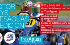 Competición de karts para los niños en Tres Aguas, Alcorcón