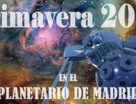 Actividades gratuitas en el Planetario de Madrid – Mayo 2016