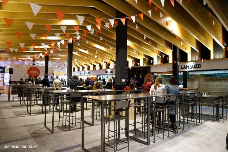 LA CHISPERÍA del Mercado de Chamberí, nuevo espacio gastronómico en Madrid
