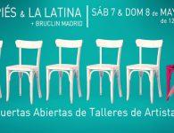 Los Artistas del Barrio abren sus puertas en Lavapiés y La Latina
