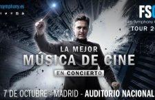 La Film Symphony Orchestra vuelve a Madrid el 7 de octubre de 2016
