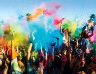 Happy Holi, festival de los colores en el Parque Enrique Tierno Galván