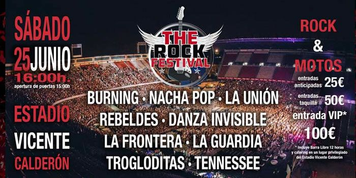 the rock festival