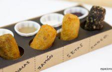 BOQUEAT, croquetas frescas y fritas con salsas junto a la Gran Vía madrileña