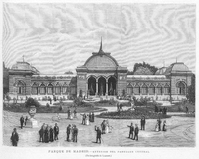 Palacio Velázquez en el Retiro de Madrid