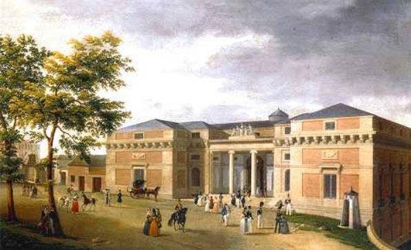 Real Gabinete de Ciencias Naturales, actual Museo del Prado