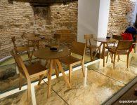 Santa Eulalia Boulangerie Patisserie, ambiente acogedor en un local singular