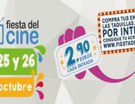Vuelve la Fiesta del Cine el 24, 25 y 26 de octubre de 2016