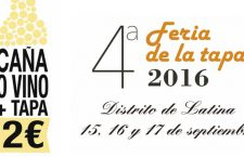 Feria de la Tapa distrito de Latina 2016