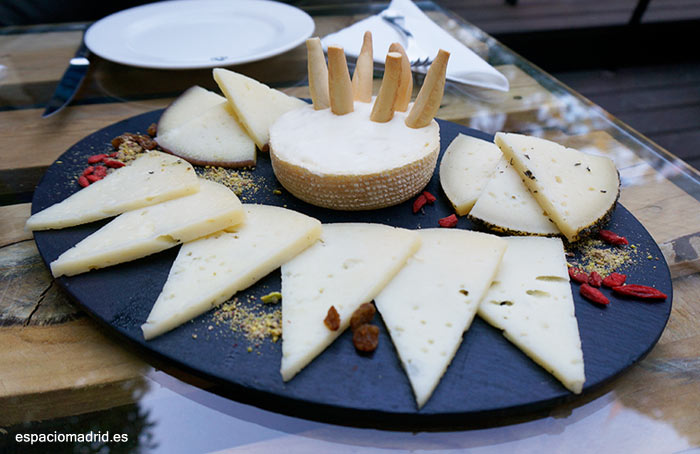 tapas de queso madrid