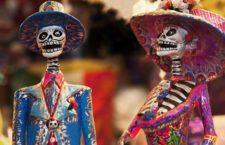 Fiesta Mexicana de muertos en La Tabacalera de Lavapiés