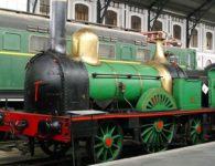 Visitas guiadas en el Museo del Ferrocarril y nostálgico viaje en el Automotor 9121