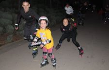 Ruta de las luces en Patines por Madrid