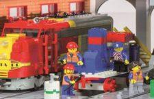 El Museo del Ferrocarril de Madrid acoge una gran exposición de maquetas de trenes de LEGO