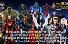 """Exposición """"Universo Ficción"""" en Centro Comercial Plaza Aluche"""