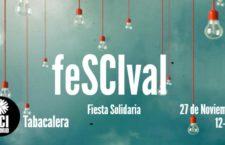 FESCIVAL, fiesta solidaria el domingo 27 de noviembre en La Tabacalera