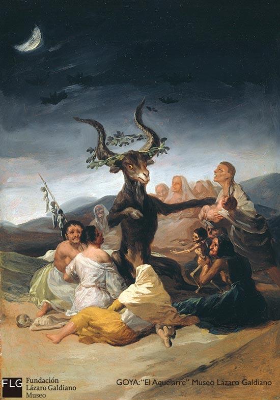 Goya El Aquelarre Museo Lazaro Galdiano