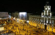 Fiesta prenavideña para celebrar el 150 aniversario del reloj de la Puerta del Sol