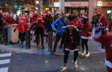 Ruta de Navidad en patines por Madrid
