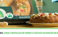 ¡Recicla vidrio y llévate un Roscón de Reyes gratis!