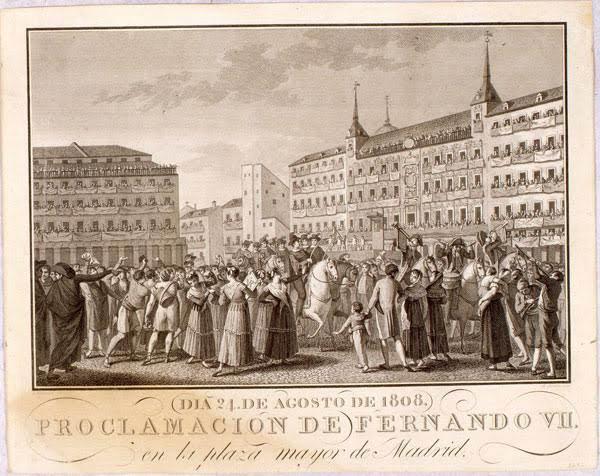 Proclamación Fernando VII