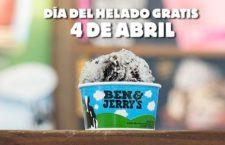 Ben & Jerry's te invita a helado el próximo 4 de abril 2017
