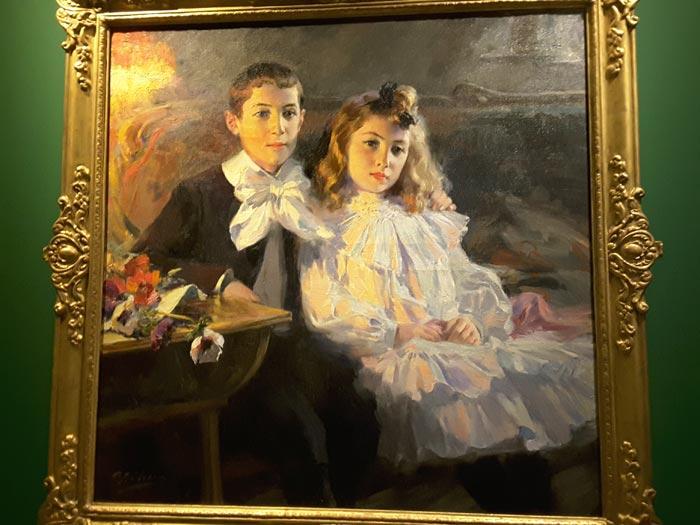 Retrato de los hijos del pintor