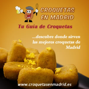 Croquetas en Madrid