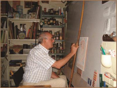 Alfredo Ruiz de Luna imagen cedida por su viuda