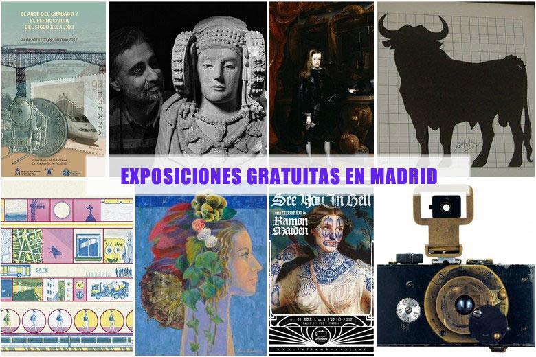 Exposiciones gratuitas Madrid
