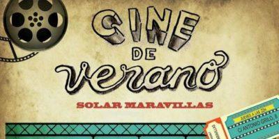 Programación Cine de Verano Solar Maravillas 2017
