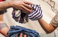 Trueque de ropa en La Casa Encendida, domingo 28 de mayo 2017