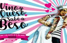 I Ruta Vino y Queso sabe a beso en Madrid, del 1 de junio al 2 de julio 2017