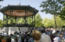 Conciertos gratuitos en el Templete de música del Retiro, verano 2017
