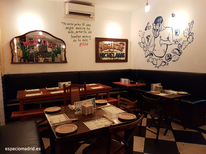 María Bonita Taco Bar, cocina mexicana en Conde Duque | Espacio Madrid
