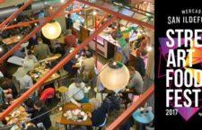 El Mercado de San Ildefonso celebra su STREET ART & FOOD FEST 2017