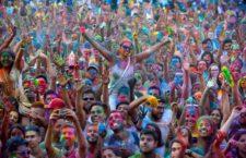 Monsoon Holi Madrid 2017, Lavapiés se llena de color con la Fiesta de los Monzones