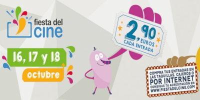 Fiesta del Cine: 16, 17 y 18 de octubre 2017