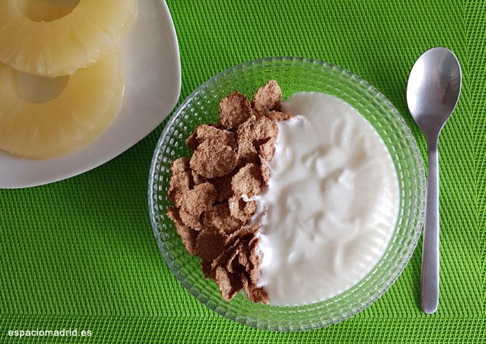 Desayunos sin lactosa